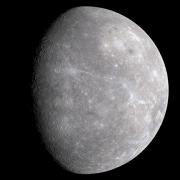 Mercúrio observado pela sonda Messenger (ESA, 2008)