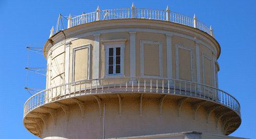 Cúpula Principal que alberga o Grande Telescópio Equatorial