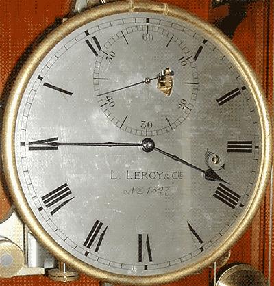 Pêndula de Tempo Solar Médio, L. Leroy do OAL.