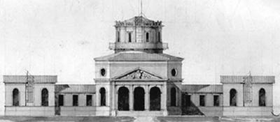 Projecto de J. Colson, 1860 (OAL)