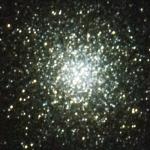 Enxame globular M13, observado com estes telescópios no Lousal.