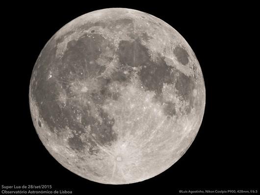 primeira Super Lua de 2016 ocorrerá no domingo dia 16 , quando a ...